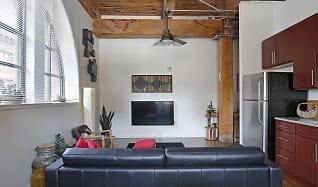 Living Room, Lucas Place Lofts