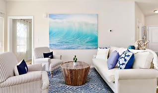 Living Room, Oceans East Luxury Apartment Homes