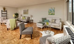 Living Room, 4000 Massachusetts Ave.