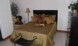 Bedroom, Collins Terrace Apartments