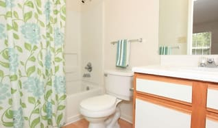 Bathroom, The Village at England Run Townhomes
