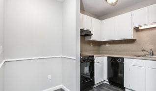 Kitchen, Apple Court Apartments