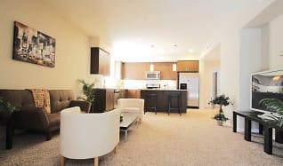 Living Room, Luxury Living at Tyler