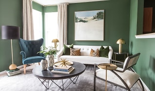 Living Room, Brickshire Apartments