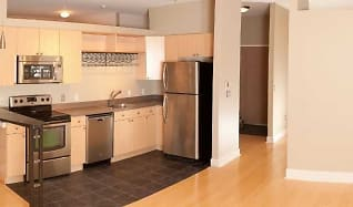 Open kitchen and living, 5677 S Park Place Avenue  #203C
