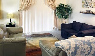 Living Room, Kingston Green Apartments