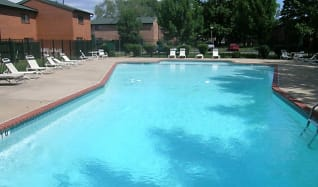 Pool, The Mint Townhomes