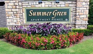 Community Signage, Summer Green Apartments