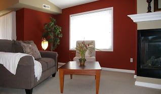 Living Room, Raspberry Woods Townhomes