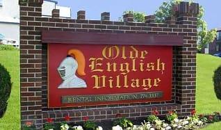 Community Signage, Olde English Village Apartments
