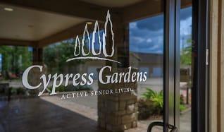 Community Signage, Cypress Garden 55 + Community