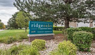 Community Signage, Ridge Oaks Apartments