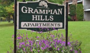 Community Signage, Grampian Hills Manor Apartments