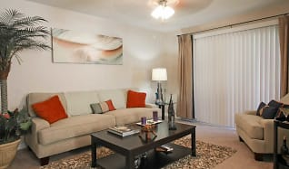 Living Room, Stonegate Apartments