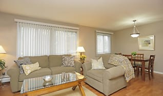 Living Room, Granite Ridge Apartments