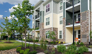 Private patio or balcony in each apartment home, The Haven at Shoal Creek