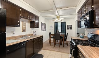 Kitchen, View High Lake