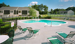 Pool, Parke Place Townhomes