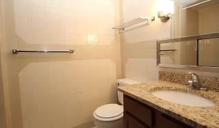 Bathroom, Bellevue Apartments