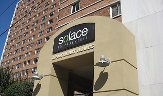 Community Signage, Solace on Peachtree