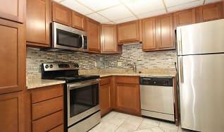 Kitchen, Bellevue Apartments