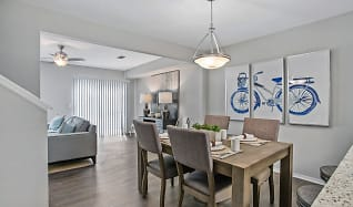 Dining Room, The Coast Townhomes of Naples