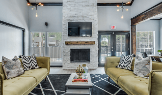 Living Room, 4060 Preferred Place Apartments