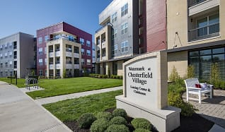 Community Signage, Watermark at Chesterfield Village Apartments