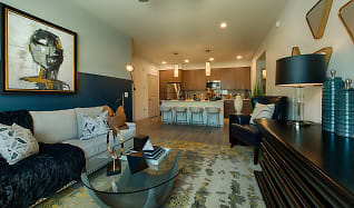 Living Room, Elevation Plaza Del Rio