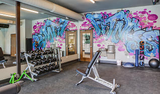 Fitness Weight Room, ZAG Apartments