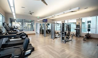 Fitness Weight Room, Highline Pointe Apartments