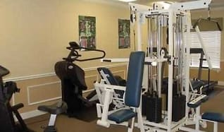 Fitness Weight Room, The Regency / Broad Pointe