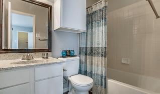 Bathroom, Westmoor Apartments