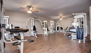 Fitness Weight Room, Quail Creek Apartments