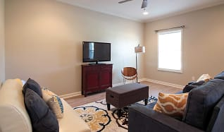 Living Room, Benoit Place Apartments