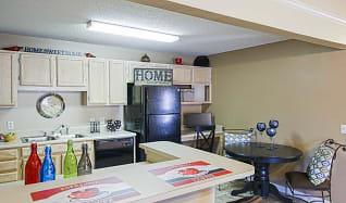 Kitchen, Lakewood Apartments