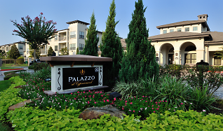 Community Signage, Palazzo at Cypresswood Apartments
