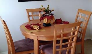 Dining Room, Walnut Bay Apartments