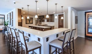 Dining Room, Avia La Jolla Senior Apartments Phase 2