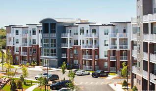Building, Elevation Apartments at Crown Colony