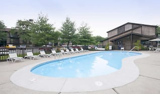Pool, Forest Creek Apartments