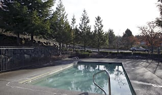 Pool, Olympic Pointe I & II Apartments