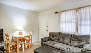Living Room, Parker Street Apartments