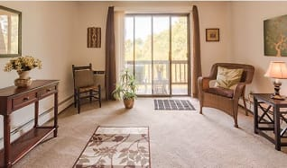 Living Room, Tanglewood Village Apartments