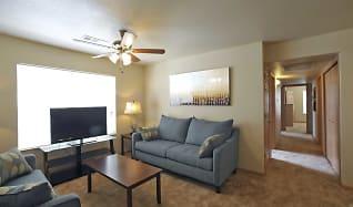 Living Room, Coles Crossing Apartments