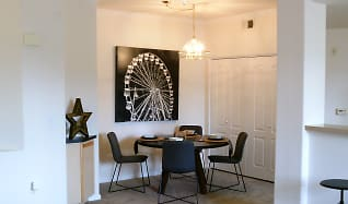 Dining Room, Aventine Luxury Apartments