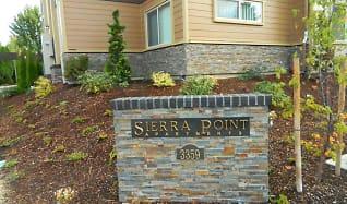 Community Signage, Sierra Point Apartments