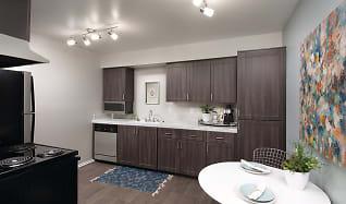 Kitchen, Berkdale Apartments