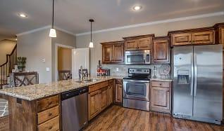 Kitchen, Prairie Pines Townhomes