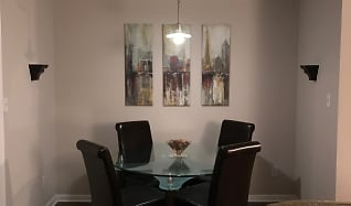 Dining Room, 1042 Churchill Downs Court, Unit A